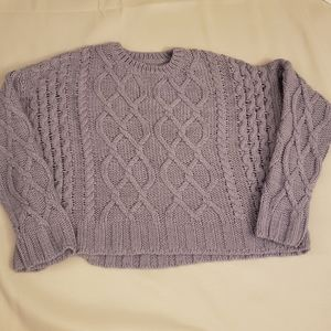 Charlotte Russe Pullover Crop Sweater Size M